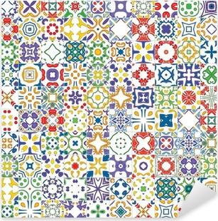 Stickers Marokkaanse tegels • Pixers® - We leven om te veranderen