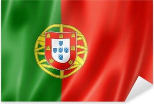 Pixerstick Sticker Portugese vlag