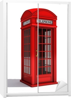 Tableau Sur Toile Cabine Telephonique Anglaise U2022 Pixers®   Nous Vivons Pour  Changer