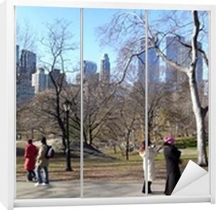 Sticker pour armoire Central Park