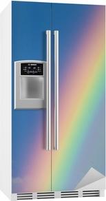 Sticker pour frigo Arc-en-ciel