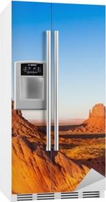 Sticker pour frigo Monument valley