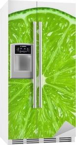 Sticker pour frigo Vert lime