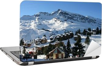 Sticker pour ordinateur portable Chalets et montagne