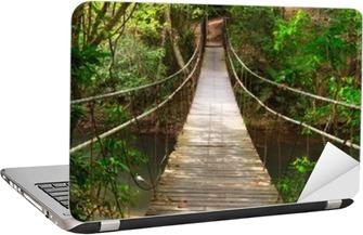 Sticker pour Ordinateur Portable Combler dans la jungle, Parc national Khao Yai, Thaïlande