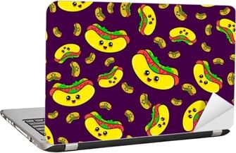 Modele De Hot Dog Sans Couture Abstraite Pour Les Filles Ou Les Garcons Fond De Vecteur Creatif Avec Hot Dog Saucisse Fond D Ecran Drole Pour Le