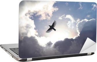 Sticker pour Ordinateur Portable Oiseau ange dans le ciel