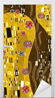 Sticker pour Porte Klimt inspiré l'art abstrait
