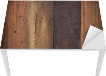 Sticker pour table et bureau fond de texture bois u2022 pixers® nous