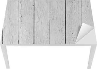 Sticker pour table et bureau bois patiné blanc u2022 pixers® nous