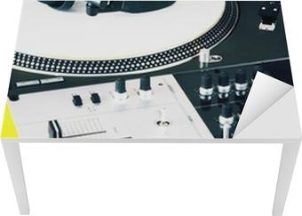 Sticker casque audio table de mixage et platine u2022 pixers® nous