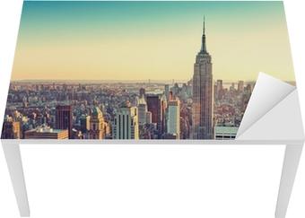 Sticker pour Table et Bureau City new york