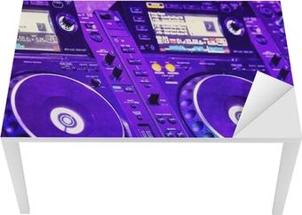 Tableau sur toile dj lecteur cd et table de mixage u2022 pixers® nous