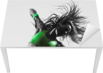 Tableau sur toile Femme exerçant Zumba Fitness silhouette de danse •  Pixers® - Nous vivons pour changer b5014dd4835