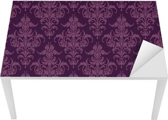 Sticker pour table et bureau Papier peint floral