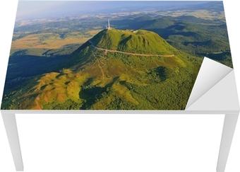 Sticker pour table et bureau Puy de dome et parc des volcans d'Auvergne