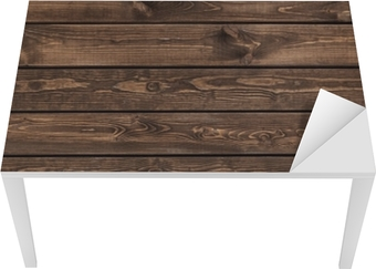 Tableau sur toile texture de bois sombre. vieux panneaux de fond