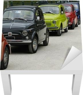 Sticker pour table Lack Fiat 500 rallye
