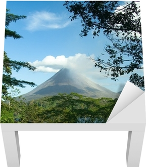 Sticker pour table Lack Volcan Arenal, Costa Rica