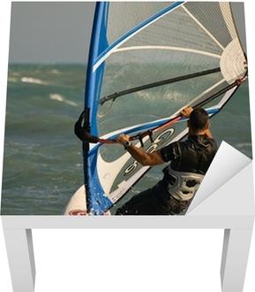 Poster Windsurf Empannage Pixers Nous Vivons Pour Changer