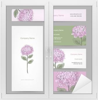 Papier Peint Jeu De Cartes Visite Avec La Conception Fleur Dhortensia O PixersR