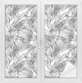 Sticker vitre Sans couture