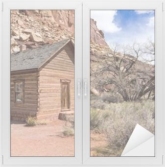 Sticker vitre Schoolhouse à Fruita, Utah