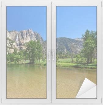 Sticker vitre Yosemite Falls