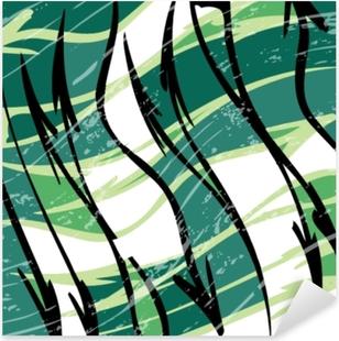 Pixerstick Sticker Prachtige abstracte vlek graffiti vectorillustratie