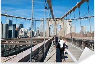 Pixerstick Sticker Promenade à New York