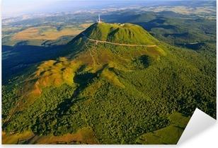 Puy de dome et parc des volcans d'Auvergne Pixerstick Sticker