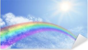 Rainbow Website Banner Header Pixerstick Sticker