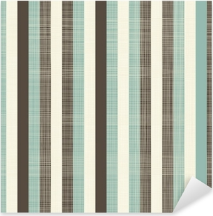 retro geometric abstract background with fabric texture Pixerstick Sticker
