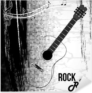 Pixerstick Sticker Rock and roll ontwerp