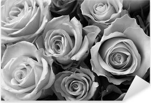 Sticker Pixerstick Roses roses