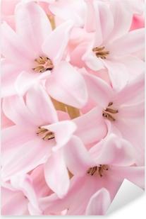 Pixerstick Sticker Roze hyacint