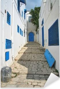 Sticker Pixerstick Rue à Sidi Bou en Tunisie