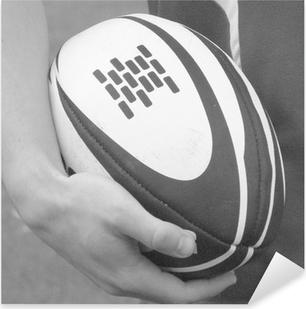 rugby 30 Pixerstick Sticker