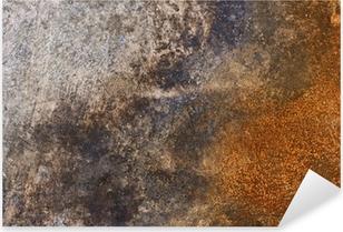 Sticker Pixerstick Rusty Metal Texture