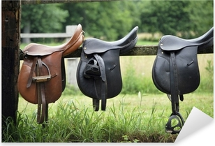 Saddles Pixerstick Sticker