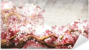 Pixerstick Sticker Sakura tak bloeien