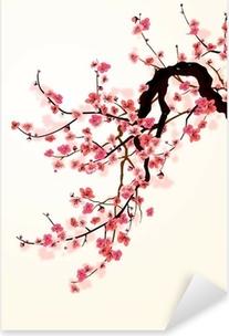 Sticker Pixerstick Sakura