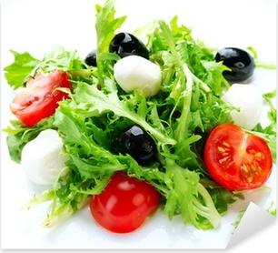 Salad with Mozzarella Cheese Pixerstick Sticker