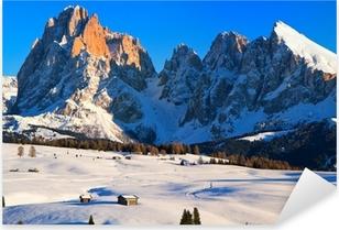 Sticker Pixerstick Sasso Lungo, Italie, Tyrol du Sud