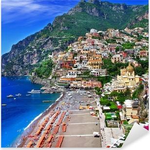 scenic Italy - Positano Pixerstick Sticker