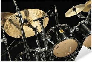 Sticker Pixerstick Schlagzeug