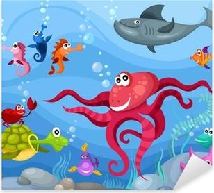 Pixerstick Sticker Sea Life