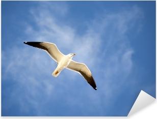 Seagull Pixerstick Sticker