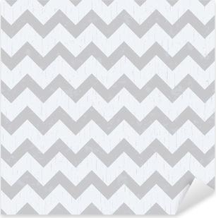seamless chevron grey pattern Pixerstick Sticker