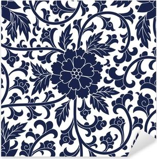 Seamless chinese pattern Pixerstick Sticker